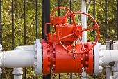 picture of shale  - This is a newly installed high pressure gas valve. ** Note: Slight graininess, best at smaller sizes - JPG
