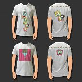 picture of fanny  - Collection of shirts with fanny kids on TV inside - JPG
