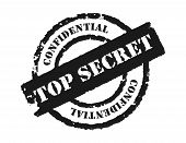 picture of top-secret  - An effective to show the something is confidential - JPG