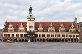 picture of leipzig  - Old Rathaus  - JPG