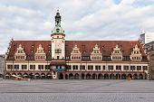 foto of leipzig  - Old Rathaus  - JPG