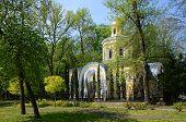 stock photo of baptism  - Gomel Palace and Park Ensemble church of St - JPG