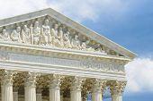 stock photo of supreme court  - Supreme Court Building - JPG