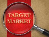 image of market segmentation  - Target Market  - JPG