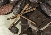 picture of crack addiction  - Chocolate bar crushed - JPG