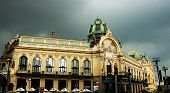 foto of municipal  - The Municipal House is one of the most significant buildings in the Art Nouveau in Prague - JPG