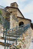 stock photo of pal  - Romanesque church of Sant Climent de Pal - JPG