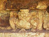 foto of midget  - Ancient midget statue in srithep phetchabun thailand - JPG