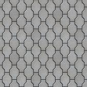 foto of paving  - Gray Decorative Wavy Paving Slabs - JPG