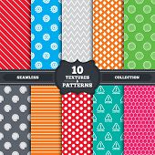 foto of attention  - Seamless patterns and textures - JPG