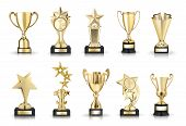 pic of trophy  - photos collection of stars awards and trophy cups - JPG