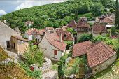 stock photo of naturel  - Residence in Saint Circ Lapopie in France - JPG