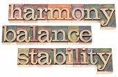 image of stability  - harmony - JPG