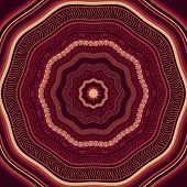 picture of marsala  - Vector Seamless Marsala Ethnic Pattern fully editable eps 10 file with clipping masks and seamless pattern in swatch menu - JPG