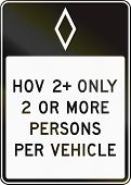 foto of traffic rules  - United States traffic sign - JPG