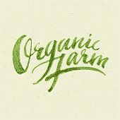 picture of farm  - Organic Farm Logo - JPG