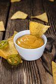 image of nachos  - Nachos with Cheese Sauce  - JPG