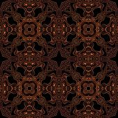 picture of viking  - Abstract metallic bronze viking or celtic like pattern made seamless - JPG