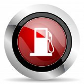 picture of petrol  - petrol red glossy web icon original modern design for web and mobile app on white background  original modern design for web and mobile app on white background  - JPG