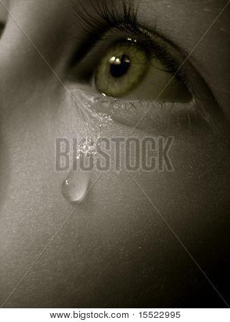 sad crying eyes  sad crying green eyes