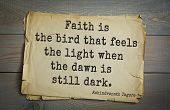Top 40 quotes by Rabindranath Tagore - Indian writer, poet, musician, winner of Nobel Prize. Faith  poster