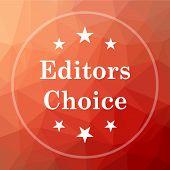 Editors Choice Icon poster