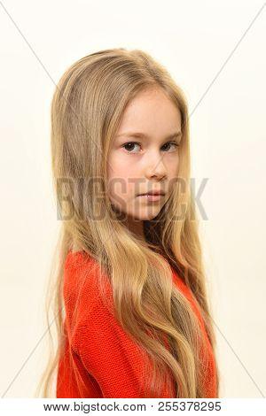 poster of Hair Salon. Hair Salon Services. Pretty Girl At Hairdresser Or Hair Salon. Hair Salon And Beauty Stu
