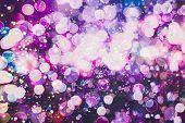 Bokeh With Multi Colors, Festive Lights Bokeh Background, Defocused Bokeh Lights, Blurred Bokeh, Bok poster