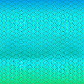 Purple, Blue, Mint Green And Gold Fish Scale Texture Background. Mermaid Pattern. Neon Magic Vector  poster