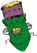 pic of witch-doctor  - frankenstein - JPG