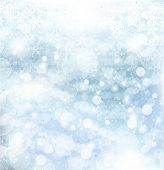 Abstract Winter background.christmas abstract Bokeh. Vektor