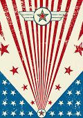 image of arriere-plan  - Patriotic scratch poster - JPG