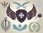 picture of taupe  - Crest and heraldry - JPG