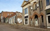 picture of crippled  - Row of very old buildings near Cripple Creek Colorado - JPG