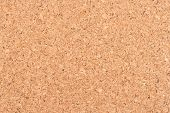 Cork Board Background Texture - Insert Your Own Message Or Bulletin With Thumbtacks. Top View. poster