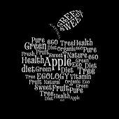 Tagcloud: apple of words