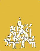Постер, плакат: музыкант состав