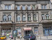 Bucharest, Romania - May 09: Cinema Bucuresti Facade On May 09, 2013 In Bucharest, Romania. The Buil