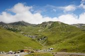 Summer View From The Pass Of Tourmalet In Pyrenees