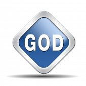 pic of godly  - God and salvation search road to heaven religion god icon god button belief in the lord - JPG