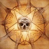 picture of pentacle  - Occult s - JPG