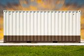 stock photo of movable  - Container  - JPG