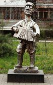 image of accordion  - statue