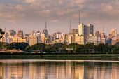 pic of obelisk  - Amazing view of Sao Paulo city from Ibirapuera Park - JPG