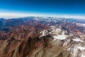 stock photo of andes  - Andes Mountains  - JPG