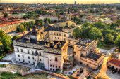 picture of royal palace  - View of Lithuanian Royal Palace in Vilnius - JPG