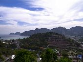 stock photo of phi phi  - Ko Phi Phi Don is an island of the Phi Phi archipelago - JPG