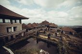 picture of mystical  - Mystical abandoned hidden rotten hotel in Bali - JPG