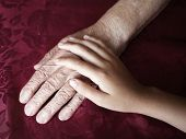 foto of 70-year-old  - Two hands - JPG
