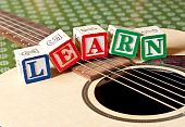 Learn Spelled Out On Guitar